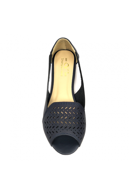 CVI1746I17-Champion Verdi Women Flat Shoes