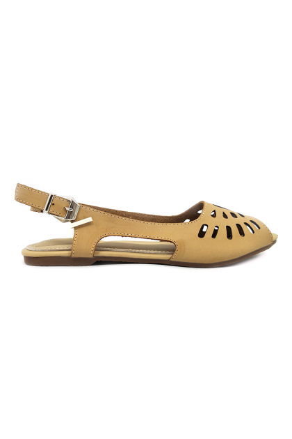 CVI1921E18-Champion Verdi Women Flat Shoes
