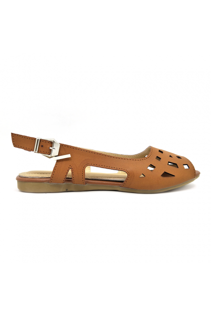 CVI1923E18-Champion Verdi Women Flat Shoes
