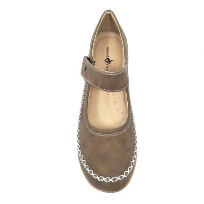 Royal Polo Flat Shoes-RVK2022F18